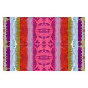 Decorative Floor Covering Mats | Ruth Palmer - The Sky is Falling 1 | Abstract lines stripes pattern