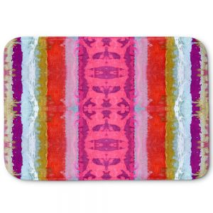Decorative Bathroom Mats | Ruth Palmer - The Sky is Falling 1 | Abstract lines stripes pattern