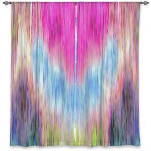 Decorative Window Treatments | Ruth Palmer - Triangular veil | Abstract pastel chevron arrow triangle