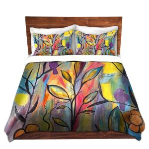 Artistic Duvet Covers and Shams Bedding | Ruth Palmer - Watching and Waiting