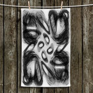 Unique Hanging Tea Towels | Ruth Palmer - Whisked Away | Brushstrokes pattern repetition