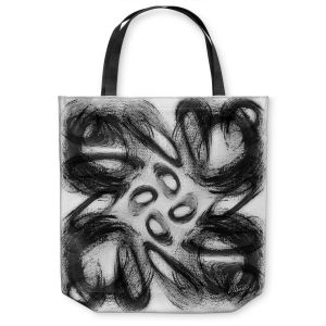 Unique Shoulder Bag Tote Bags | Ruth Palmer - Whisked Away | Brushstrokes pattern repetition