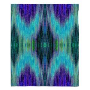 Decorative Fleece Throw Blankets   Ruth Palmer - X Marks the Spot   shapes alphabet abstract