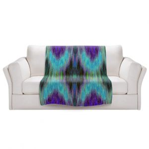 Artistic Sherpa Pile Blankets   Ruth Palmer - X Marks the Spot   shapes alphabet abstract