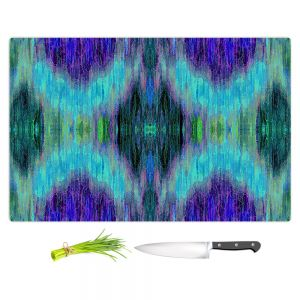Artistic Kitchen Bar Cutting Boards | Ruth Palmer - X Marks the Spot | shapes alphabet abstract
