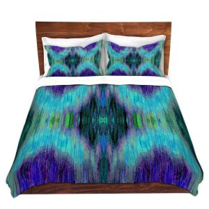 Artistic Duvet Covers and Shams Bedding | Ruth Palmer - X Marks the Spot | shapes alphabet abstract