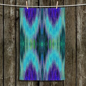 Unique Hanging Tea Towels | Ruth Palmer - X Marks the Spot | shapes alphabet abstract