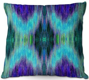 Decorative Outdoor Patio Pillow Cushion | Ruth Palmer - X Marks the Spot | shapes alphabet abstract