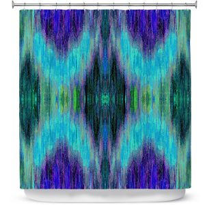 Premium Shower Curtains   Ruth Palmer - X Marks the Spot   shapes alphabet abstract
