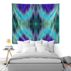 Artistic Wall Tapestry | Ruth Palmer - X Marks the Spot | shapes alphabet abstract