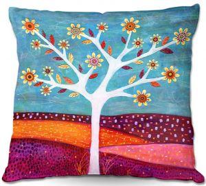 Decorative Outdoor Patio Pillow Cushion | Sascalia - Amber