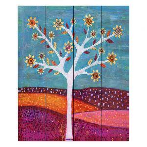 Decorative Wood Plank Wall Art | Sascalia Amber