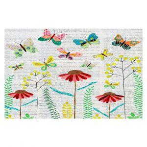 Decorative Floor Coverings | Sascalia April Butterflies