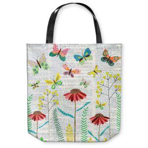 Unique Shoulder Bag Tote Bags   Sascalia April Butterflies