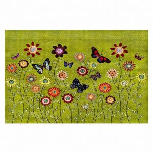 Decorative Floor Coverings | Sascalia Bohemian Butterflies