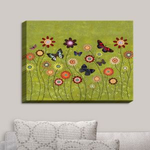 Decorative Canvas Wall Art | Sascalia - Bohemian Butterflies