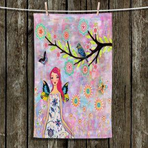 Unique Bathroom Towels | Sascalia - Butterfly Fairy
