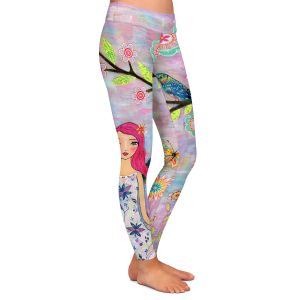 Casual Comfortable Leggings | Sascalia Butterfly Fairy