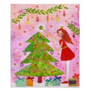 Artistic Sherpa Pile Blankets | Sascalia Christmas Tree