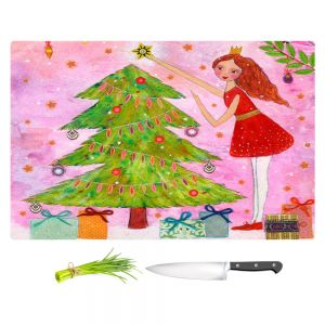 Artistic Kitchen Bar Cutting Boards | Sascalia - Christmas Tree
