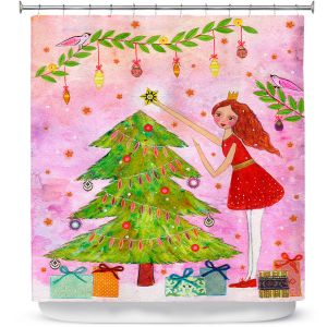Premium Shower Curtains | Sascalia Christmas Tree