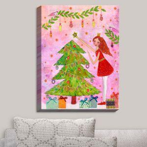 Decorative Canvas Wall Art | Sascalia - Christmas Tree