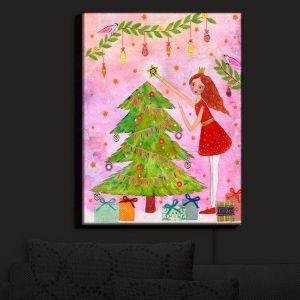 Nightlight Sconce Canvas Light | Sascalia - Christmas Tree