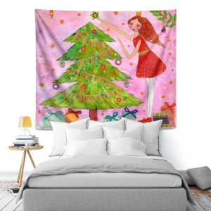 Artistic Wall Tapestry | Sascalia Christmas Tree
