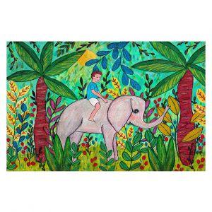 Decorative Floor Coverings | Sascalia - Elephant Boy | Child Elephant Animals Jungle