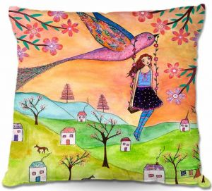 Decorative Outdoor Patio Pillow Cushion | Sascalia - Fly Me Home