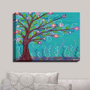 Decorative Canvas Wall Art | Sascalia - Happy Tree