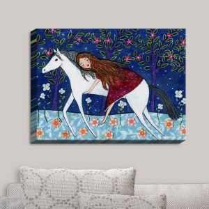 Decorative Canvas Wall Art | Sascalia - Horse Dreamer