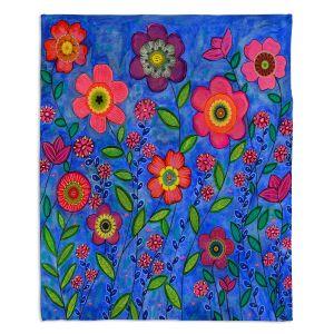 Decorative Fleece Throw Blankets | Sascalia - Joy