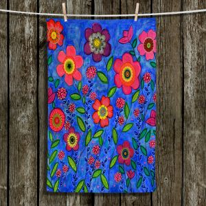 Unique Hanging Tea Towels | Sascalia - Joy | Flowers Joy Gardens