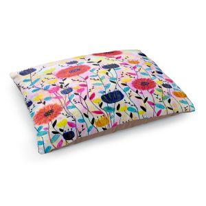Decorative Dog Pet Beds | Sascalia - Joyful | Flowers Nature Garden