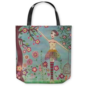 Unique Shoulder Bag Tote Bags | Sascalia Letting Go