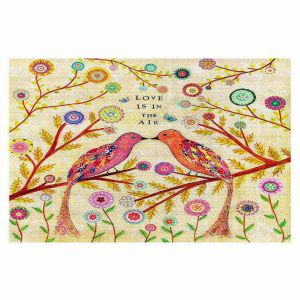 Decorative Floor Coverings | Sascalia Love Birds
