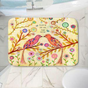 Decorative Bathroom Mats | Sascalia - Love Birds