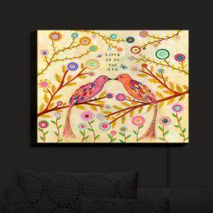 Nightlight Sconce Canvas Light | Sascalia's Love Birds