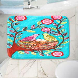 Decorative Bathroom Mats | Sascalia - Love Nest