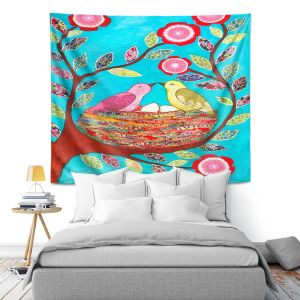 Artistic Wall Tapestry | Sascalia Love Nest