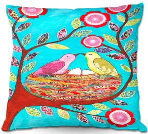 Throw Pillows Decorative Artistic | Sascalia's Love Nest