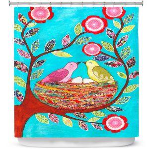 Premium Shower Curtains | Sascalia Love Nest
