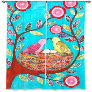 Decorative Window Treatments | Sascalia Love Nest