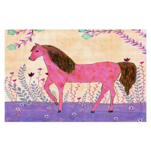 Decorative Floor Coverings | Sascalia - Meadow Horse | Horse Animals