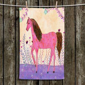 Unique Bathroom Towels | Sascalia - Meadow Horse | Horse Animals