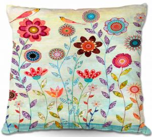 Decorative Outdoor Patio Pillow Cushion | Sascalia - Morning