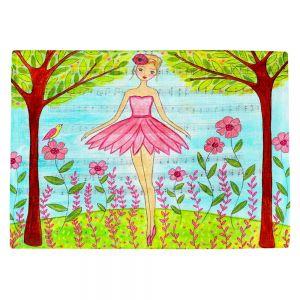 Countertop Place Mats | Sascalia Pink Ballerina