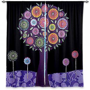Decorative Window Treatments   Sascalia Purple Tree
