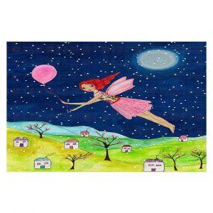 Decorative Floor Coverings | Sascalia - Snow Fairy | Fairy Childlike Fantasy Holiday Houses